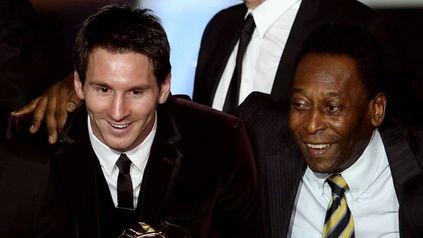 La puja. Pelé anotó 77 goles con la camiseta de Brasil, mientras que Messi está a solo uno con 76.