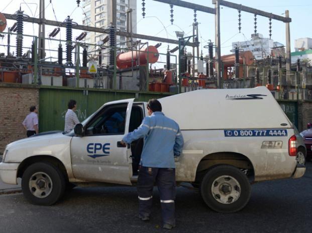Los operarios de la EPE trabajarán en distintas zonas de la ciudad.