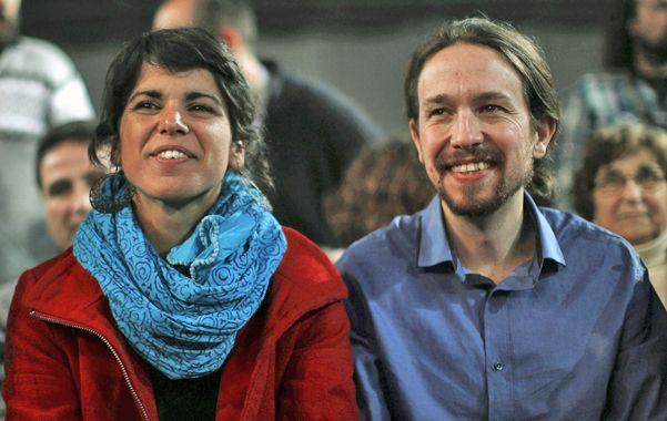 En avance. El líder de Podemos