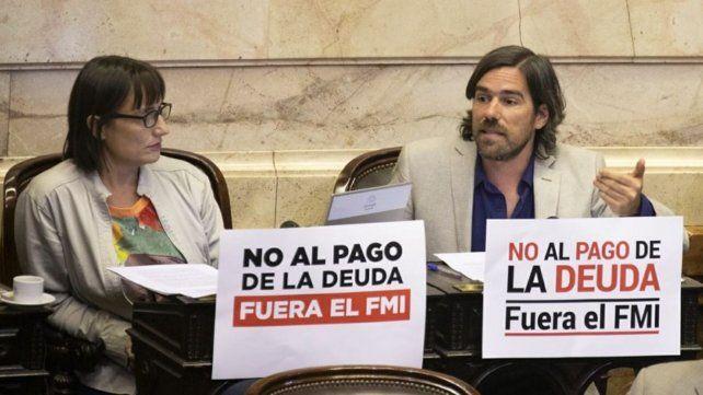 Romina Del Plá y Nicolás del Caño se abstuvieron en la votación.