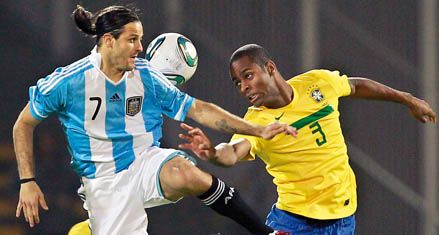 La selección le jugó de igual a igual a un Brasil con algunas fantasías