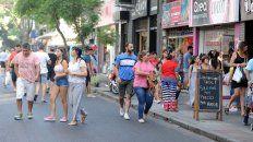 San Luis se convirtió en peatonal el 21 de diciembre del año pasado.