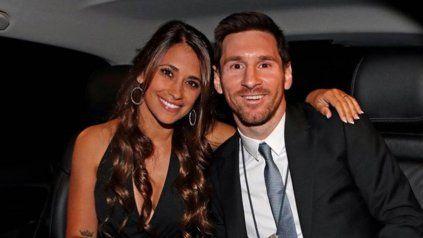 Antonela Roccuzzo y Lionel Messi, el matrimonio rosarino más famoso.