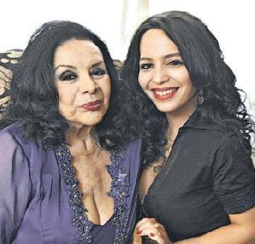 Isabelita Sarli: Mi madre no se lleva muy bien con Mirtha Legrand