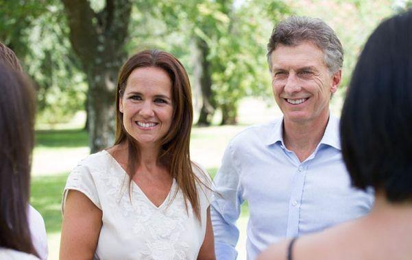 Equipo. Macri está entusiasmado con la candidatura a intendenta de Anita.
