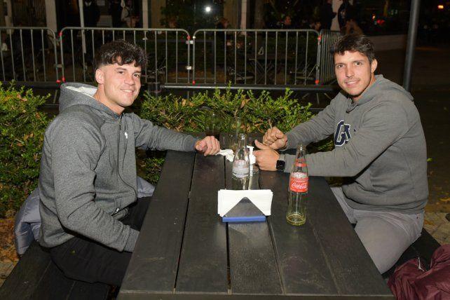 Federico Marchisio y Pablo Costa Forcat.