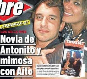 Aito de la Rúa, mimoso con la novia de su hermano Antonito