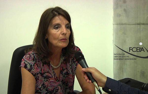 La ingeniera María Teresa Garibay tiene una dilatada trayectoria universitaria.