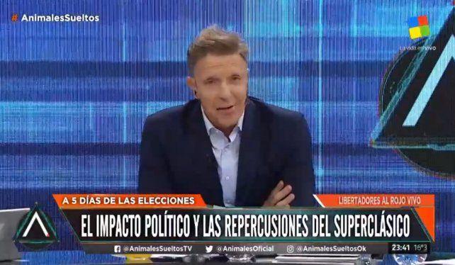 Fantino: Me siento como Macri cuando perdió las Paso