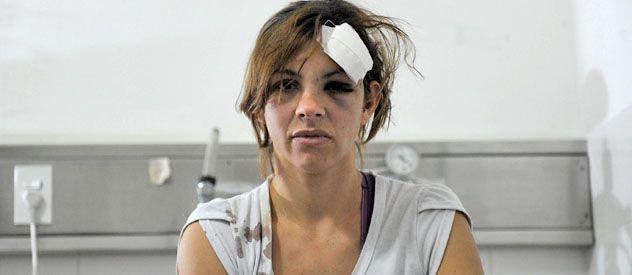 Carolina estuvo en el Hospital Alberdi