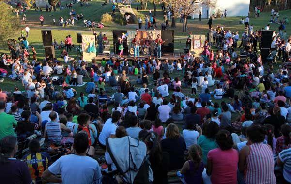 Con música. La celebración incluyó recitales y otras sorpresas.