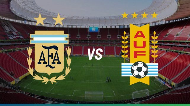 Argentina y Uruguay se enfrentan por la Copa América en una nueva edición del clásico del Río de la Plata