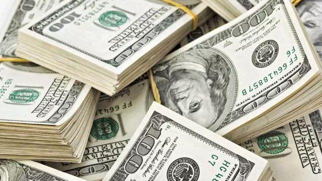 Abrupta caída de la demanda de dólares por parte de los privados