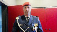 El Rambo belga. El militar, de 46 años, se habría suicidad con un arma de fuego.