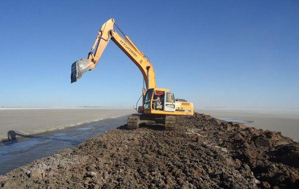 Los trabajos se habilitarán hoy en la cuenca de la laguna La Picasa. El ministro Ciancio recorrerá hoy el lugar.