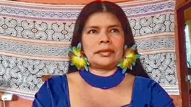 Patricia Gualinga Montalvo es defensora de los derechos humanos y líder de una comunidad originaria del Ecuador.