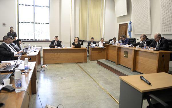Hoy será la última jornada del juicio oral y público contra Quiroz. (C.M.Lovera)