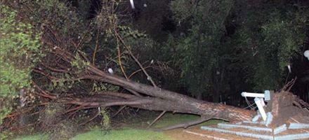 Localidades de la zona intentan recuperarse tras la fuerte tormenta