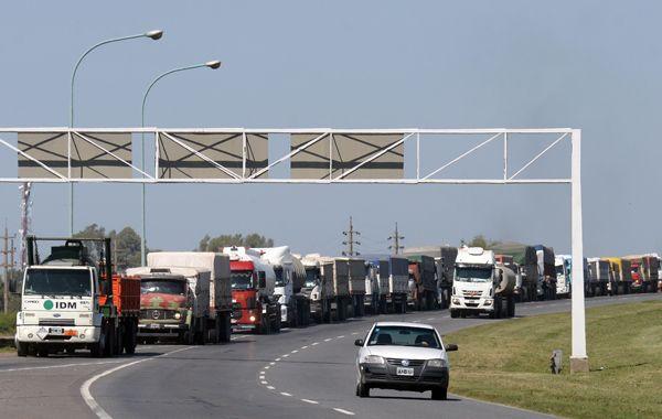 Los camioneros realizarán un gran acto este mediodía en las instalaciones del club Deportivo Español.