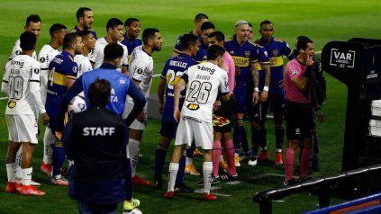 La situación de Boca es secuela del partido con Mineiros por la Libertadores.