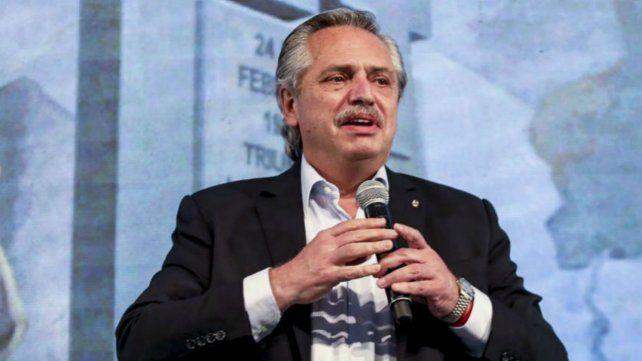 Alberto Fernández llamó a desterrar el odio en el 75 aniversario de la creación del movimiento peronista.