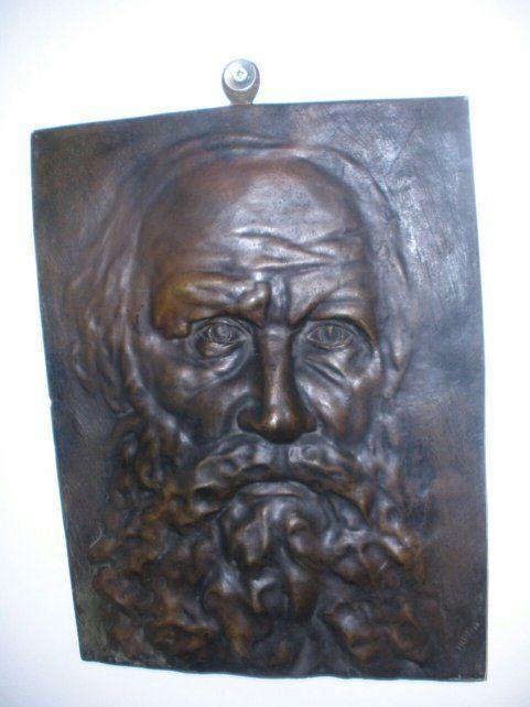 El Tolstoi. Una de las obras robadas de la Biblioteca Argentina.