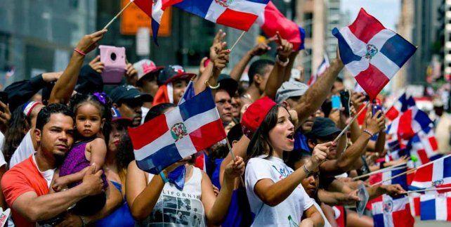 BANDERAS. Dominicanos son mayoría de los votantes latinos en Nueva York.