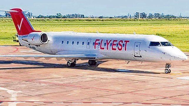El avión. Los vuelos tendrán dos frecuencias semanales