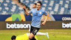 Uruguay festejó ante los bolivianos.