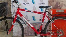 La bicicleta robada por un joven de nacionalidad peruana. Por ese y otro robo, será deportado.
