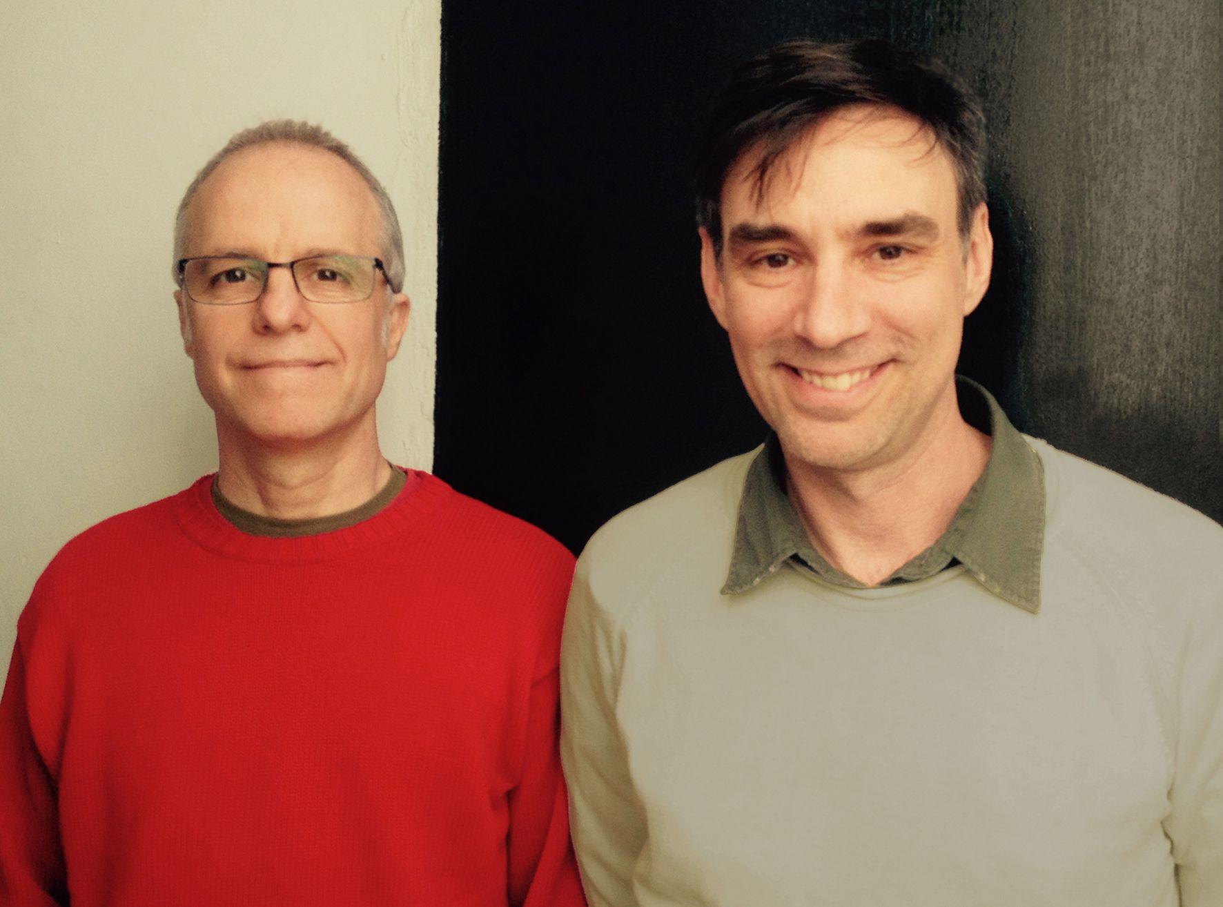 Alvaro Urtizberea y Diego Lublinsky codirigieron la película que está en cartel en salas rosarinas.