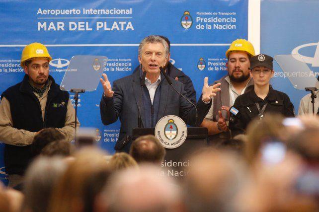 Macri: Voy a seguir ocupándome de llevar alivio a todas las familias