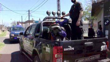 Vecinos atraparon a un ladrón que ingresó a robar a una casa en barrio Azcuénaga