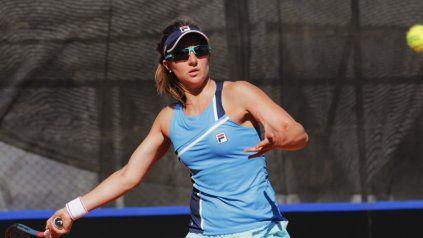 Nadia Podoroska es la máxima atracción en Córdoba, por ser la tenista N° 1 del país.