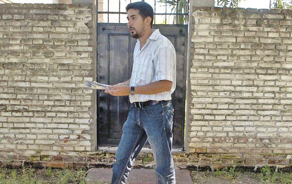 El detenido. Juan Raffo fue indagado ayer en Tribunales por asociación ilícita