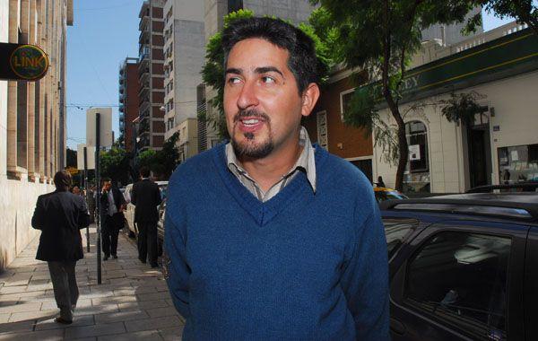 El señalador. El oficial Juan Raffo denunció a varios policías en 2009.