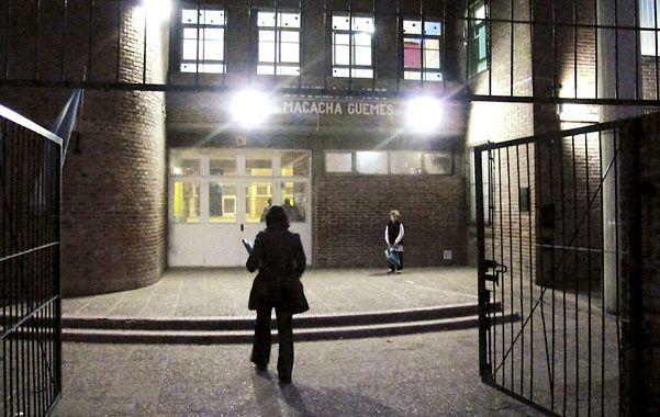 La institución. Anoche aún había un sentimiento de fuerte disgusto en la escuela.