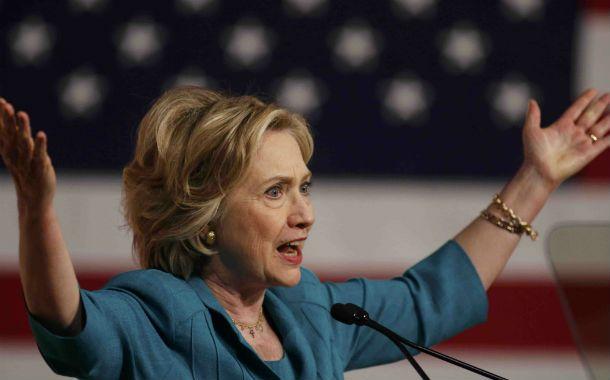 Reclamo. Hillary Clinton visitó Miami