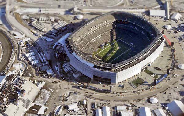 Imponente. En el Medlife Stadium de East Rutherford entran 82.500 espectadores.