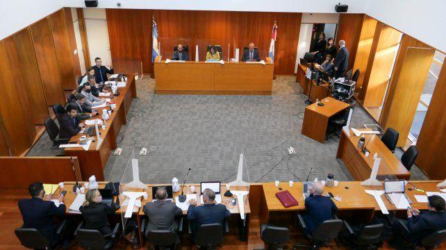 El juicio oral y público a la banda liderada por Guille Cantero por balaceras contra sedes judiciales se realiza en el Centro de Justicia Penal de Rosario.