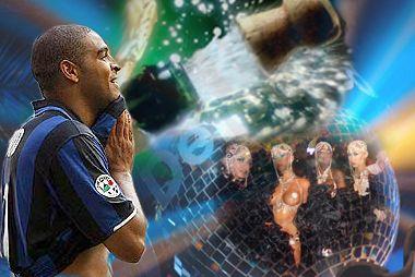 Adriano confesó que solía ir a entrenar borracho cuando estaba en el Inter