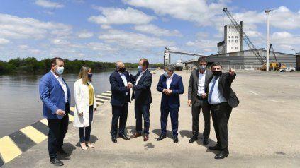 Ampliarán las exportaciones con contenedores desde el puerto