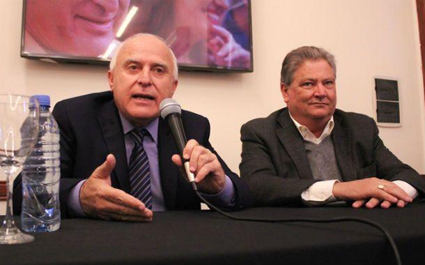 Electos. La fórmula integrada por Miguel Lifischitz y Carlos Fascendini ganó por ajustado margen.