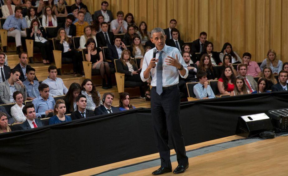 La directora de programas de la fundación rosarina El Desafío atrajo a Obama.
