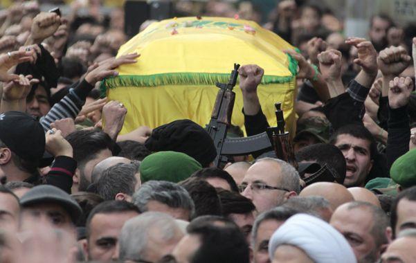 Funeral. El entierro del comandante de Hezbolá Yijad Mugniyeh