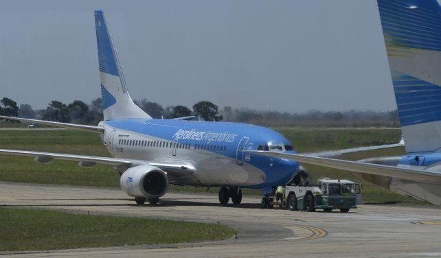 PREPARADOS. Desde el aeropuerto local deslizaron que están dadas las condiciones para que vuelvan rápidamente estos servicios.