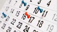Decisión. El gobierno nacional dispuso decretar el lunes 24 como feriado puente.