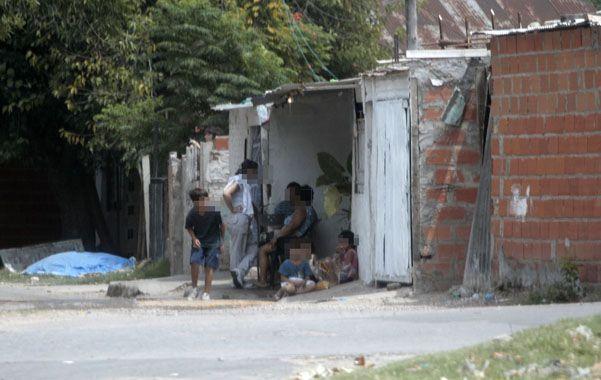 El barrio. En pasaje Franco y República Dominicana está el sitio donde la chica dijo haber sido abusada.
