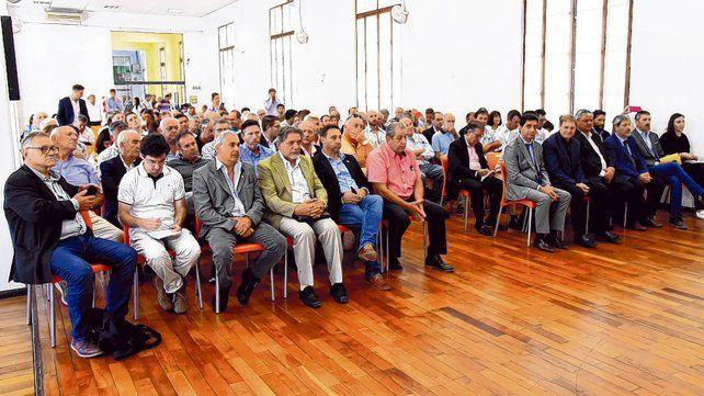 En la sede de Gobernación lanzaron los nuevos créditos a tasa subsidiada.