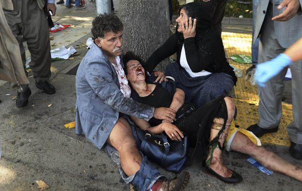 Barbarie. Las potentes explosiones en Ankara dejaron más de 250 heridos